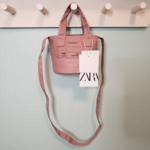 Zara Crossbody Bucket Bag